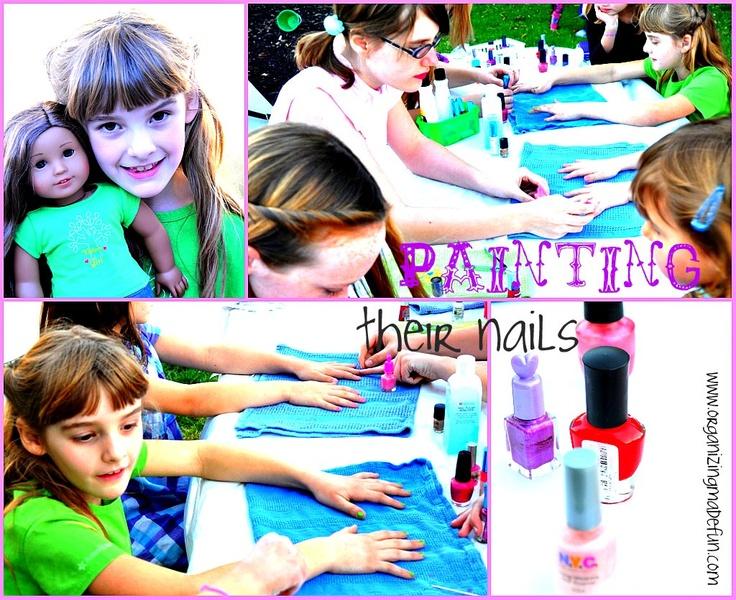 girlie nail salon party | party ideas | Pinterest | Salon party ...