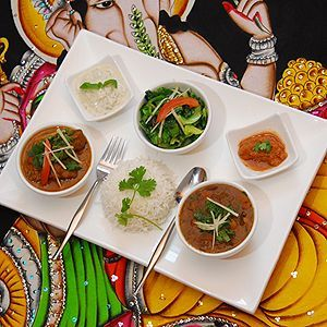 The acclaimed Namaste Nepalese Restaurant, billed as an Everest of culinary delights.