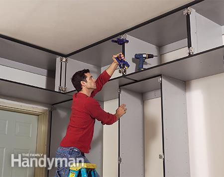 Build the Ultimate Garage Cabinets Yourself