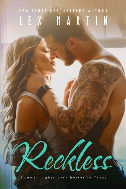 Cover Reveal: Reckless by Lex Martin  Genre: Adult Contemporary Romance Cover Design: Najla Qamber Designs Photo: Perrywinkle Photography Release Date: February 20, 2018     https://www.goodreads.com/book/show/36130400-reckless     #preorder - $2.99 #preorder ONLY price!!   US: http://amzn.to/2lmHdzO UK: http://amzn.to/2BOWSP3 CA: http://amzn.to/2zIUk3r AU: http://amzn.to/2Cis2zw Universal Amazon: http://mybook.to/LM_Reckless B&N: http://bit.ly/RecklessNk Kobo: http://bit.ly/RecklessKb