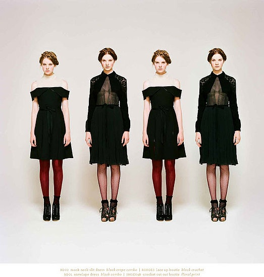 Rodarte for Opening Ceremony// Fall 2011: Opening Ceremony, Fashion, Inspiration, Style, Dress, Rodarte, 2011 Lookbook, Black, Fall 2011