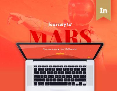 """다음 @Behance 프로젝트 확인: """"Journey to Mars - Booking Web Platform"""" https://www.behance.net/gallery/41538749/Journey-to-Mars-Booking-Web-Platform"""