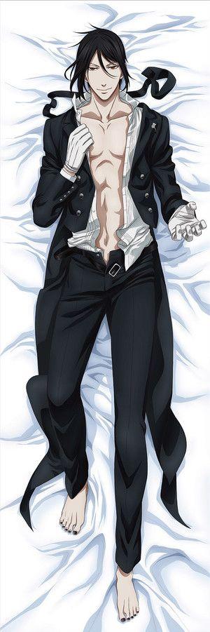 【Black Butler - Book of Circus】 Dakimakura Pillow Cover - Sebastian on Crunchyroll