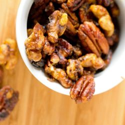 Fabulous spiced nuts - If nuts could taste like this all the time, I would eat my weight in them.