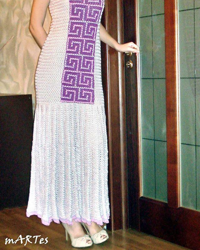"""Платье """"Афины"""" из коллекции """"17-го года""""  #афины #греция #martes #ART #мартес #вязание #вязаноеплатье #коллекционное #коллекционноеплатье #подиум #люкс #платье #платьекрючком #платьеназаказ #ручнаяработа #мода #дизайн #luxury #crochet #luxurycrochet"""