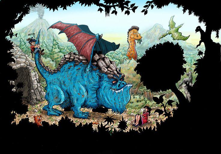 Dragon : Etre costaud ça peut aider parfois!