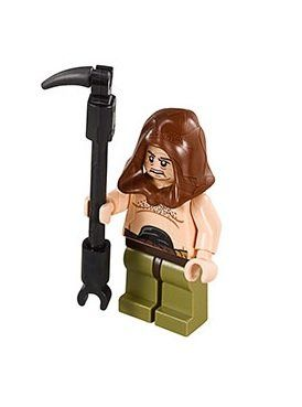 LEGO® Star WarsTM Malakili - Rancor Trainer - from set 75005 by LEGO. $6.95. Figire is less than 2 inches tall, and was removed from a large LEGO set.