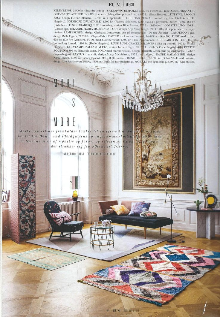 Moroccan Berber rugs handpicked by kira-cph.com from the danish interior magazine RUM, dec. 16, styled by Pernille Vest.