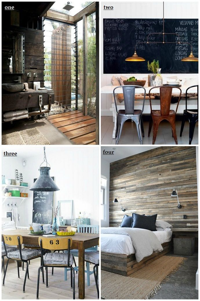 Industrial designing and home decorating - My latest Crush!