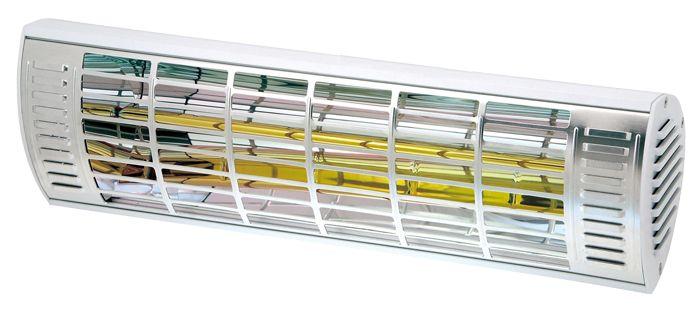 Reflektor ciepła IP65 - wodoszczelny, idealne rozwiązanie na zewnątrz budynków.
