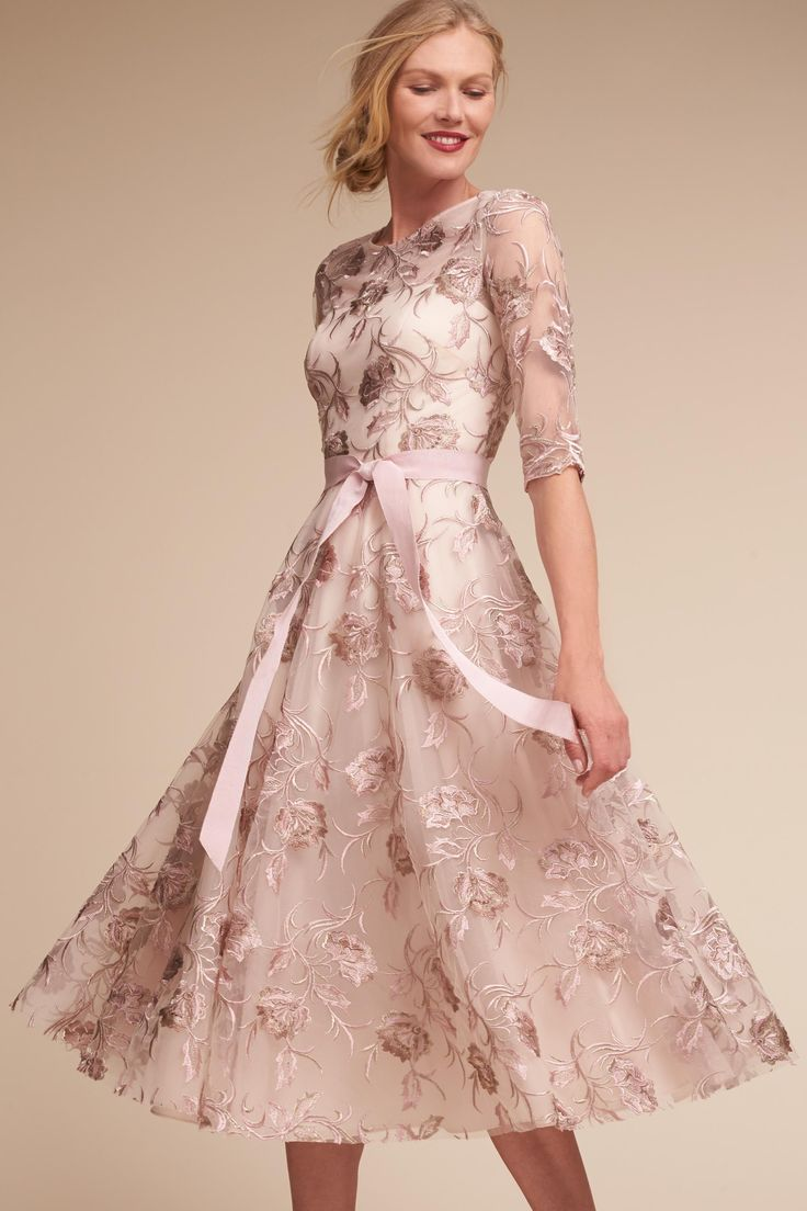 Linden Dress Black/Pink in Occasion Dresses | BHLDN