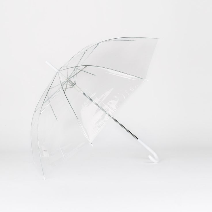 regalo paraguas transparente bastÓn | natura