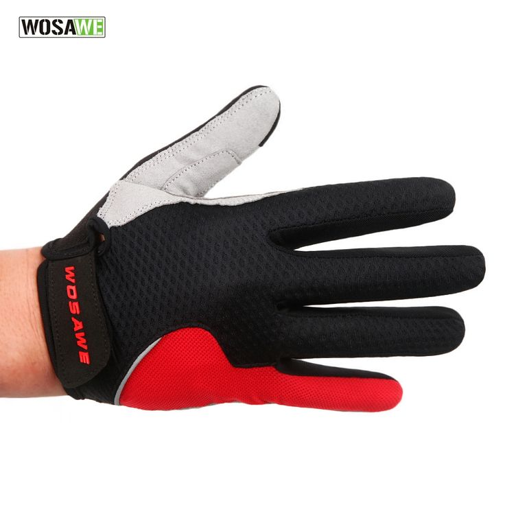 9.05$  Watch here - WOSAWE Summer Style Men's Cycling Gloves Women Full Finger Bike Bicycle MTB Gloves Touch Screen Gel Padded Lycra Mittens Glove   #SHOPPING