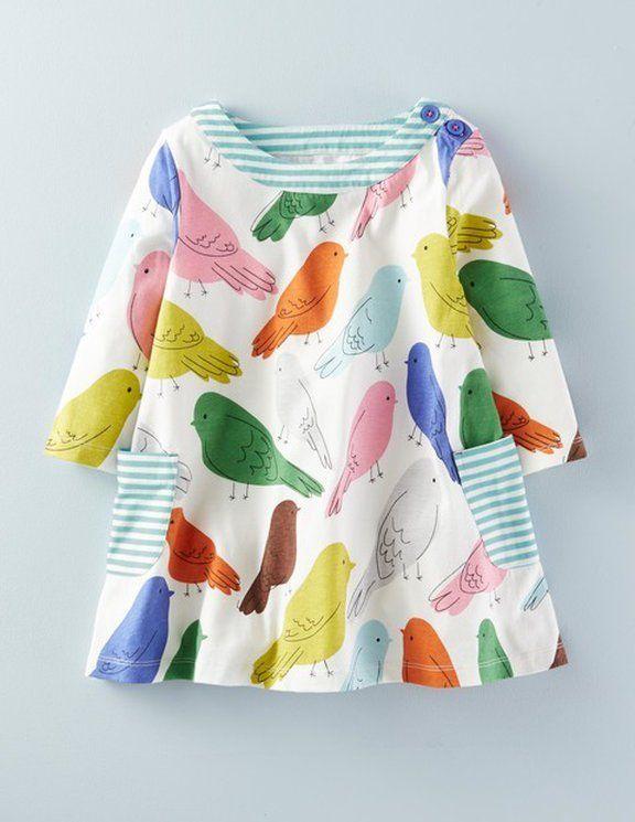 Mini Boden Birdie Dress