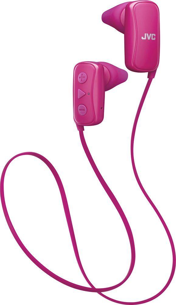 JVC - Gumy Wireless In-Ear Headphones - Pink