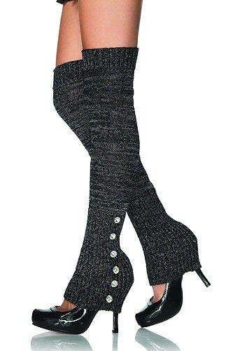 Punk Rock Lurex Leg Warmers - Spats & Leg Warmers