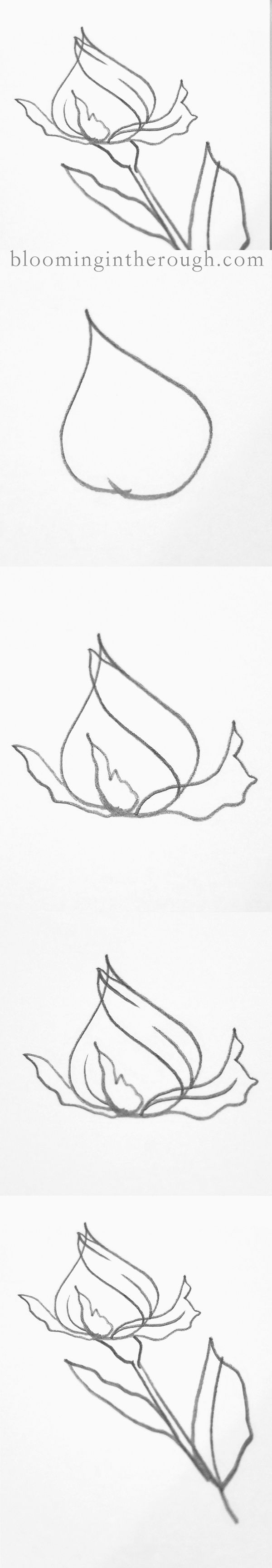best 25 easy rose drawing ideas on pinterest easy to draw rose