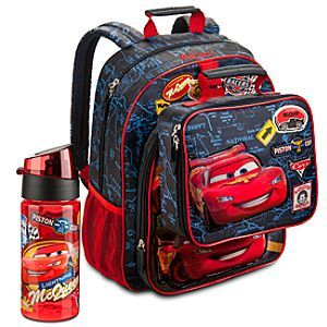 Disney Cars Backpack Lunch Tote Collection Disney Store