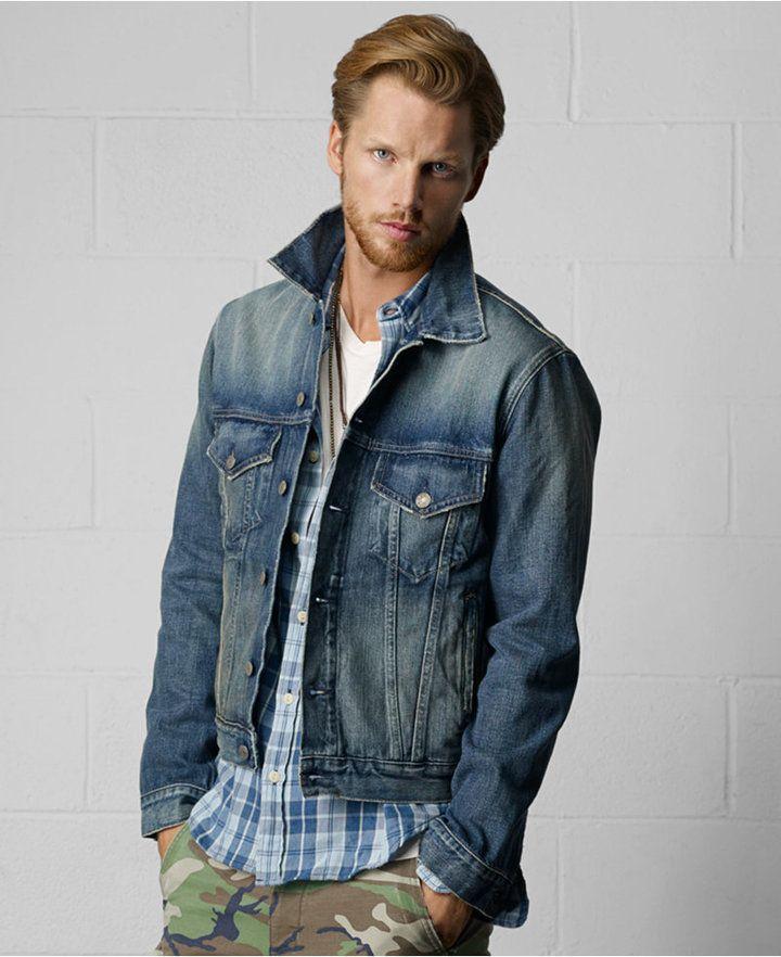 1000  ideas about Denim Jacket Men on Pinterest | Men fashion ...