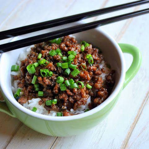 Rice & Korean Beef Bowls (Tigelas com Arroz & Carne Estilo Coreana)