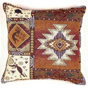 2995 kokopelli native american decorative throw pillow 17 - Native American Decor