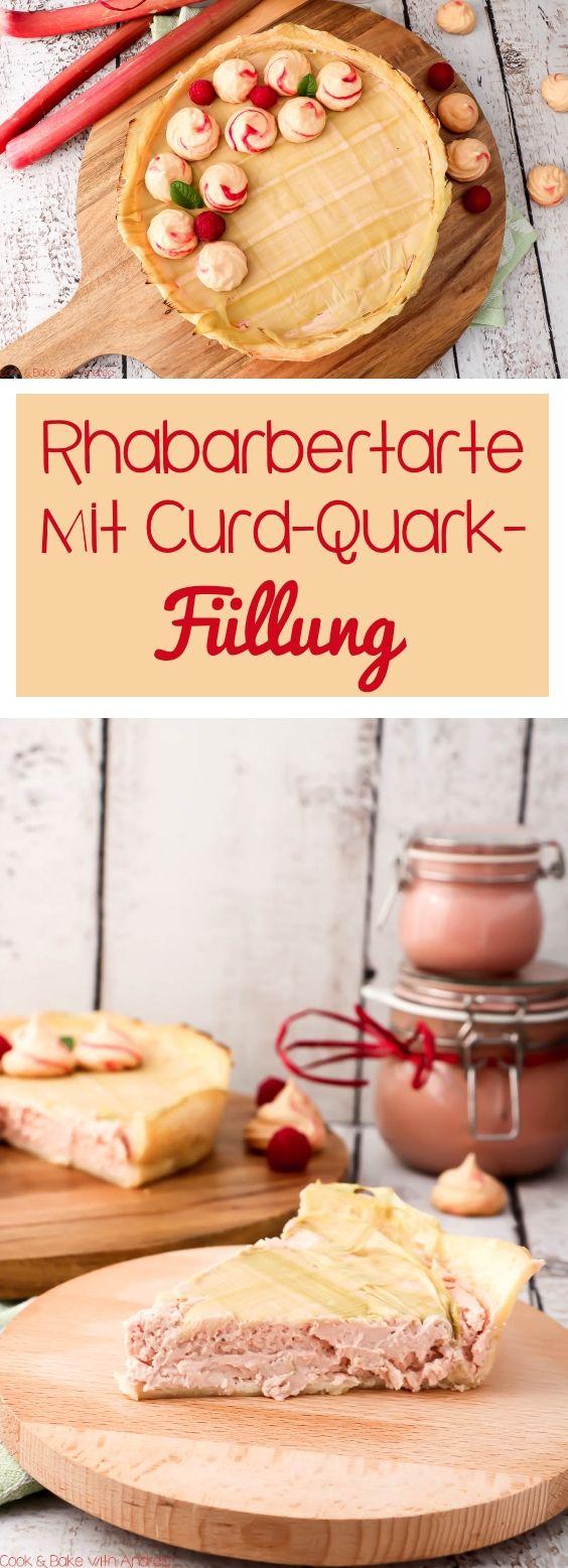 Dieser leckere Kuchen mit seinem Webmuster aus Rhabarber und seiner Füllung aus Quark und selbstgemachtem Rhabarber Curd ist der totale Hingucker, aber mit verhälnismäßig sehr geringem Aufwand. Einfach, schnell und lecker und genau passend für den Frühling (und zum Beispiel auch zum Muttertag, Geburtstag etc.) Die Rhabarbertarte mit Curd-Quarkfüllung von Cook and Bake with Andrea müsst ihr einfach nachmachen, Rezept gibts auf dem Blog. Der etwas andere Cheesecake bzw. Käsekuchen!