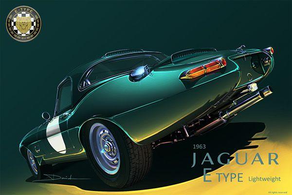 https://www.behance.net/gallery/25356119/1963-Jaguar-E-TYPE-Lightweight