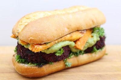 Ninnin Köökki: Divine veggie burger