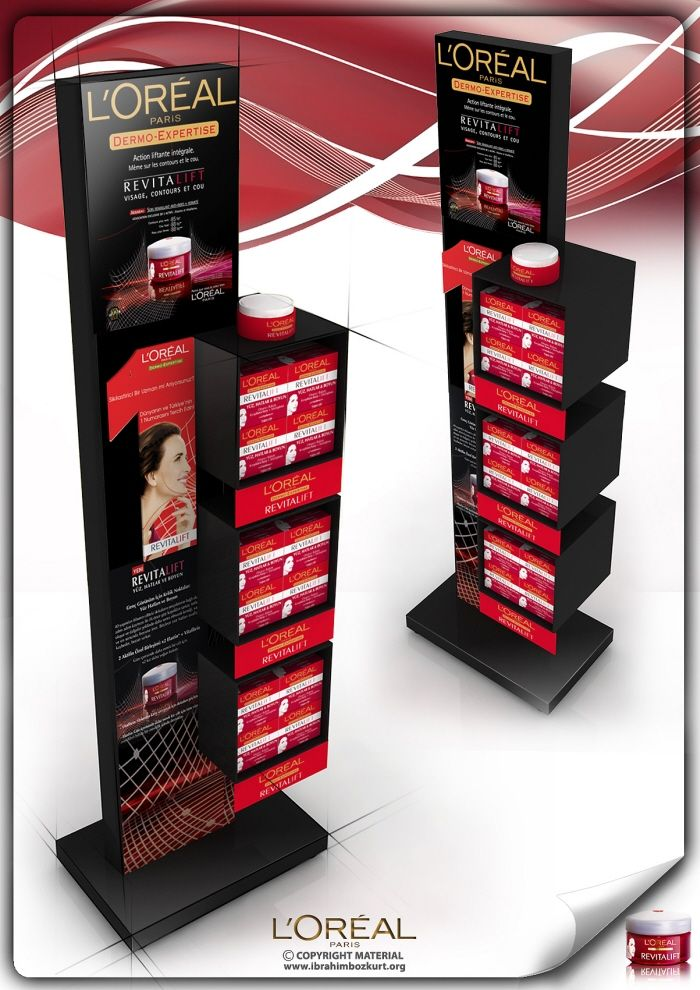 Point of Purchase Design | POP Design | POS Design | Health & Beauty POP |  by ibrahim BOZKURT at Coroflot.com