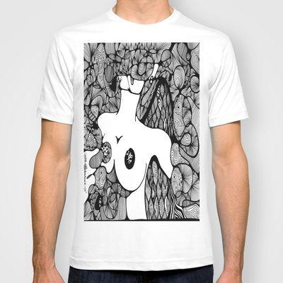 Fallen Angel, In Loving Memory Of T-shirt by Katrina Berkenbosch  - $22.00