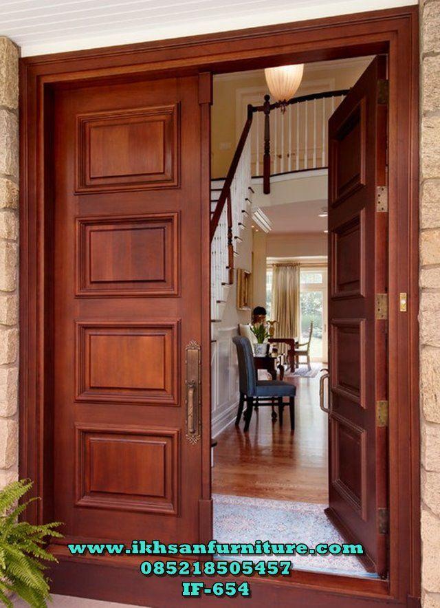 Kusen Pintu Rumah Modern Kupu Tarung Model Kusen Pintu Rumah Modern