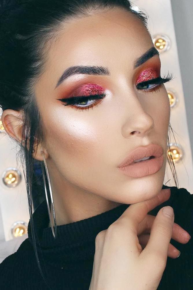 Best 25+ Valentines Day Makeup Ideas On Pinterest
