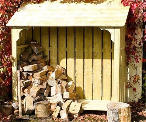 f you have an open fire or log burner you'll need a log store to keep the wood dry. This is essential for the timber to burn well, creating maximum heat rather than smoke. This is David Coton's guide to choosing a store and the different types of wood that are best to use as fuel.