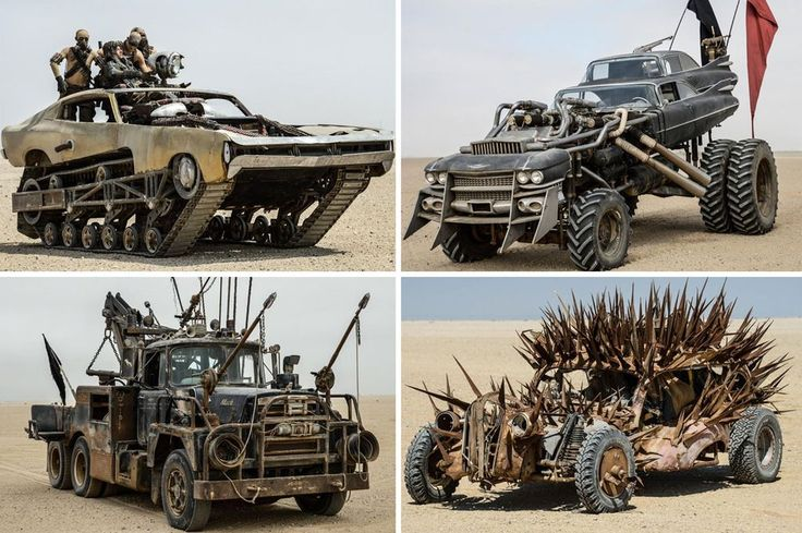 Mad Max trucks: The incredible post-apocalyptic battle vehicles ...