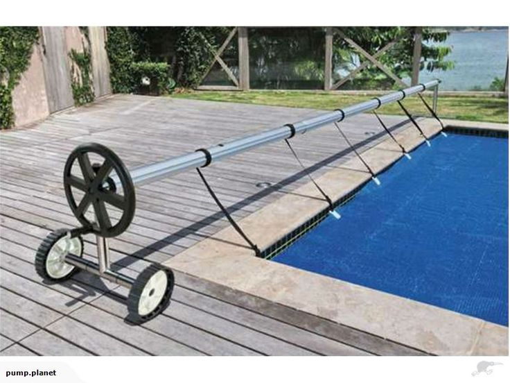 Adjustable Swimming Pool Cover Roller with Wheels | Trade Me