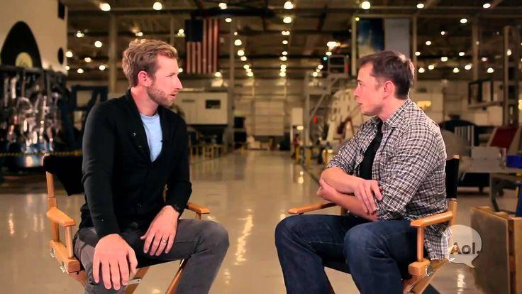 Elon Musk Interview - SpaceX Translogic