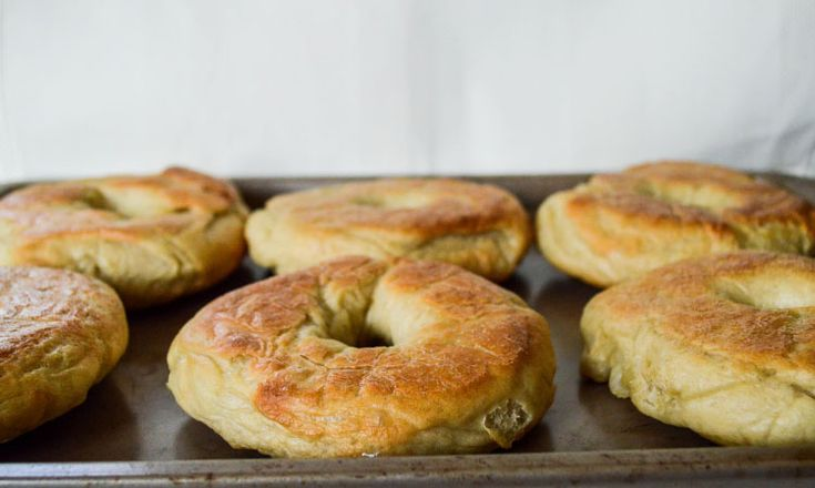 Plain Bagels Recipe