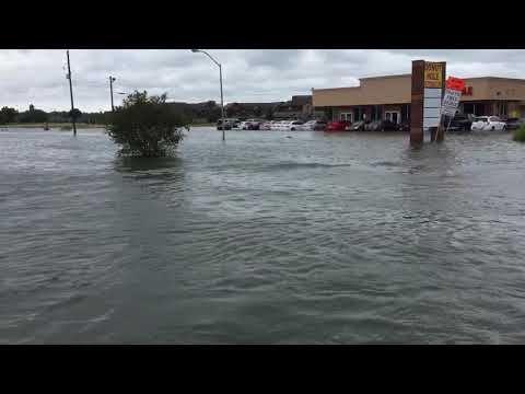 Hurricane Harvey port Arthur Texas arriving at a nursing home for evac - YouTube