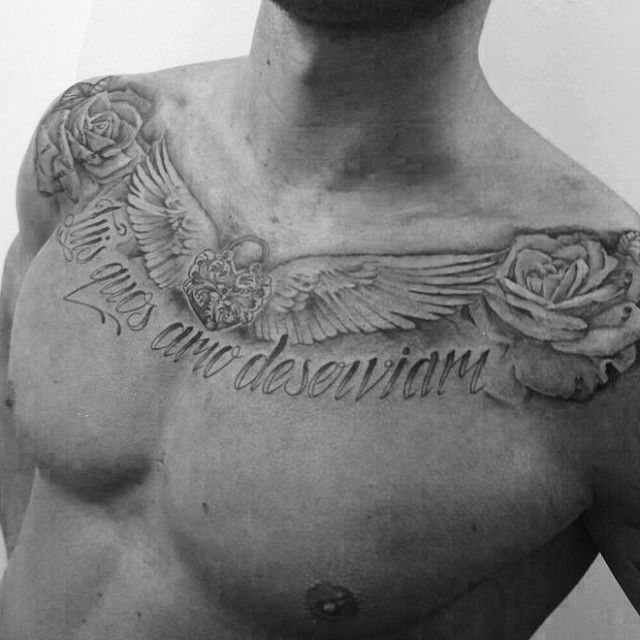 Sunderland's Connor Wickham shows off awesome chest tattoo
