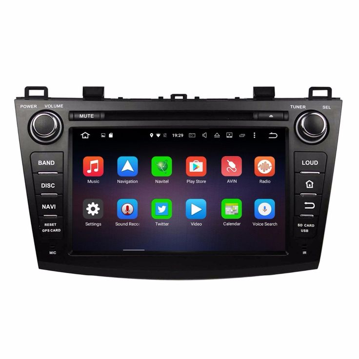 """1024*600 Octa Core 8"""" Android 6.0 Car DVD GPS for Mazda 3 2009-2012 With 2GB RAM Radio Car Audio Bluetooth 4G WIFI 32GB ROM"""