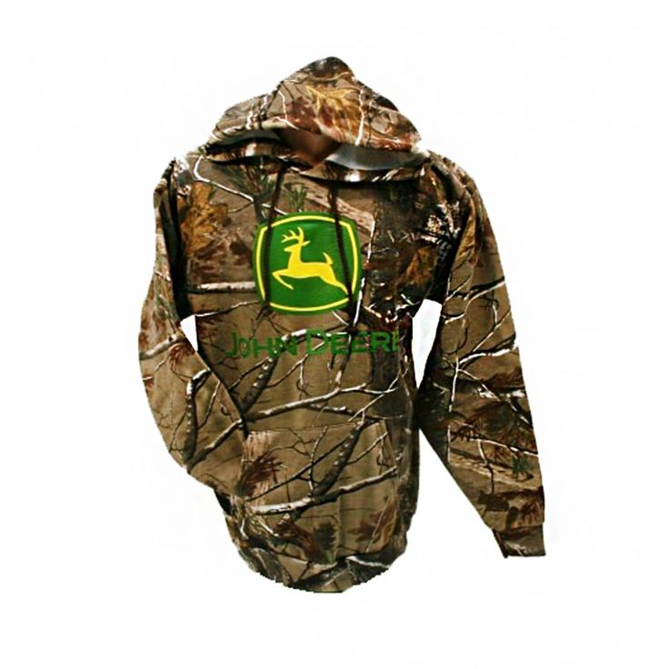 John Deere Realtree Hooded Sweatshirt | RunGreen.com