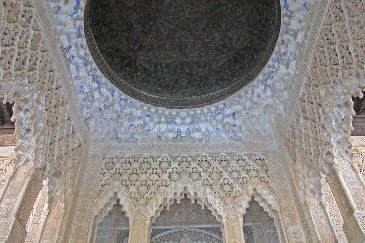 Detalle Cúpula de Madera en una Estancia Alhambra de Granada