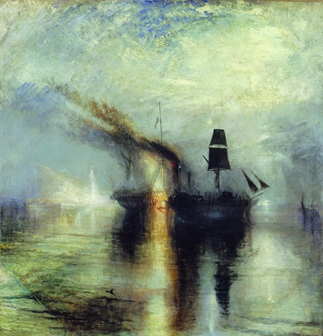 Peace - Burial at Sea by William Turner