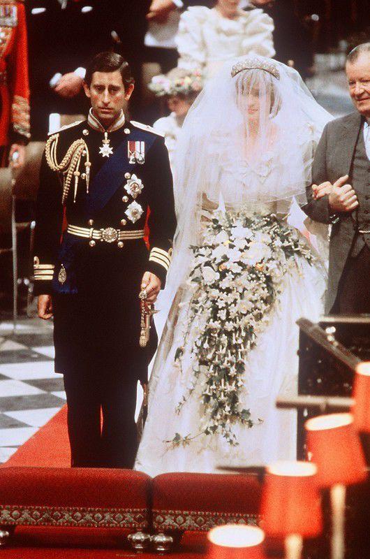 Słynne suknie ślubne gwiazd, Księżna Diana, 1981 rok