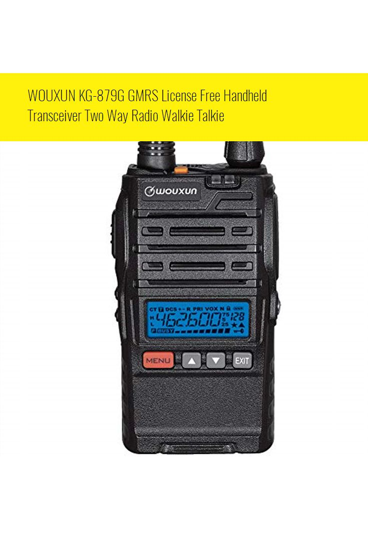 WOUXUN KG879G GMRS License Free Handheld Transceiver Two