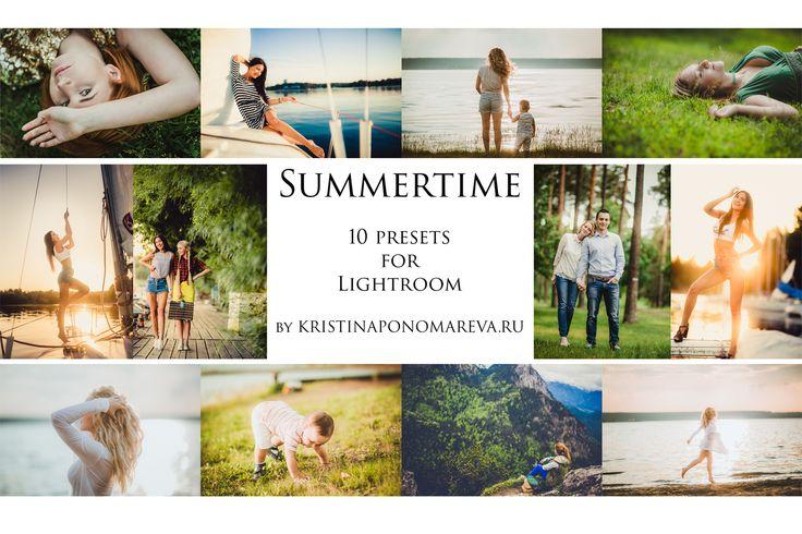 Summertime- 13 presets for Lr by Krisp_Krisp on @creativemarket