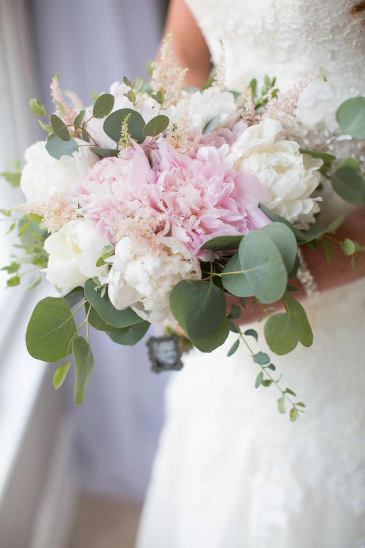 Greenery Bouquet Wedding White Flowers