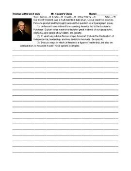 personal character college essay