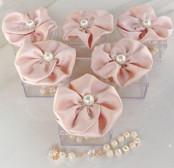 30pcs blush pink favors Wedding baptism Favor Box by AVAandCOMPANY, $72.99