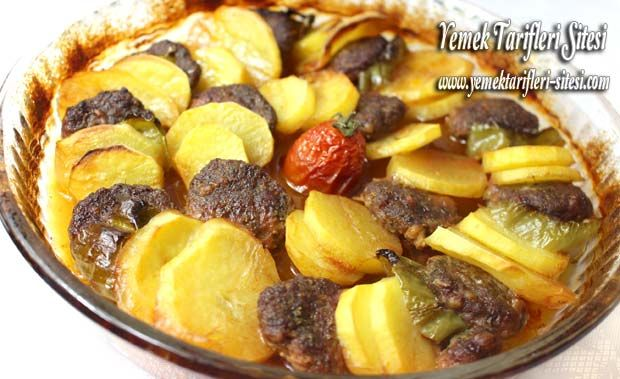 Fırında Köfte Patates | Yemek Tarifleri Sitesi - Oktay Usta - Harika ve Nefis Yemek Tarifleri